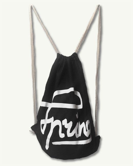 "Spring Breaker Bag ""schwarz"""