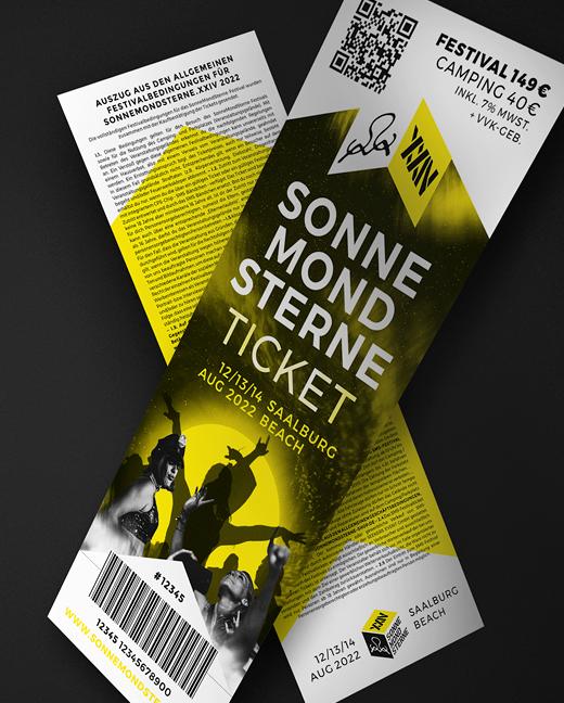 SonneMondSterne Festival 2022 Kombiticket