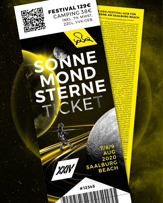SonneMondSterne Festival 2020 Kombiticket