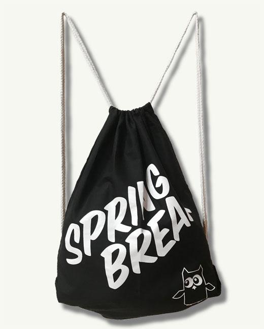 "Spring Breaker Bag 2018 ""schwarz"""