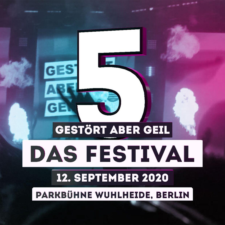 Ticket Gestört aber GeiL - Das Festival 2020