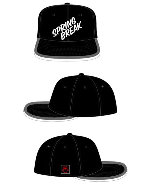 "Spring Break Cap 2019 ""black/red"""