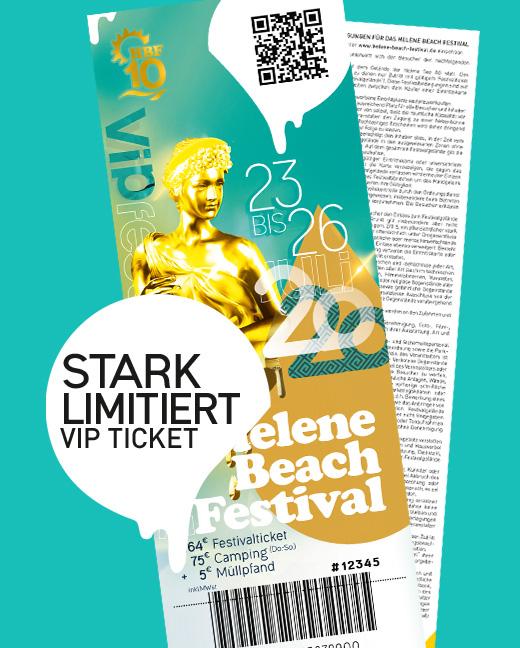Helene Beach Festival 2020 Kombiticket VIP