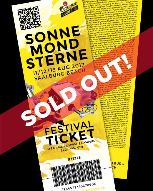 SonneMondSterne Festival-Ticket 2017 zzgl. Gebühr