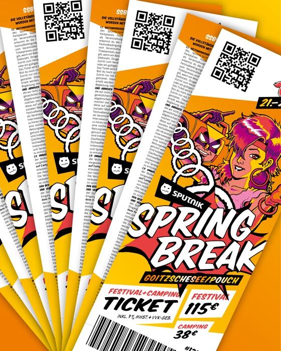 Sputnik Springbreak Festival 2021 Kombiticket