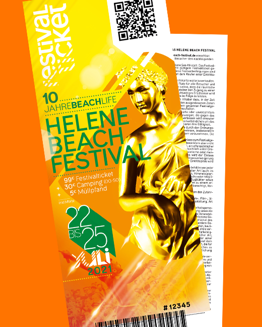 Helene Beach Festival 2021 Kombiticket