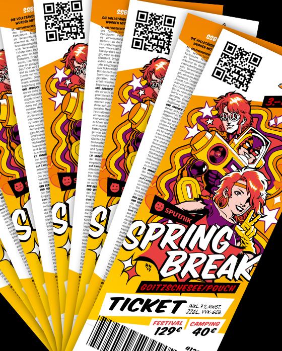Sputnik Springbreak Festival 2022 Kombiticket