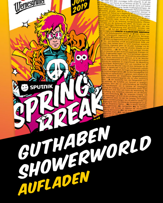 Sputnik Springbreak Festival 2019 Top Up