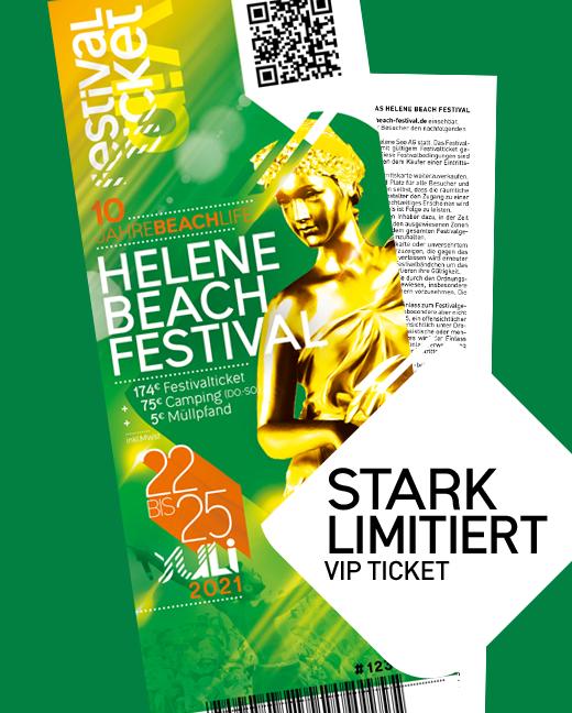 Helene Beach Festival 2021 Kombiticket VIP