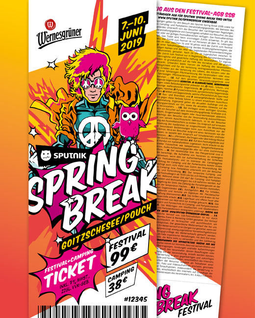 Sputnik Springbreak Festival 2019 Kombiticket