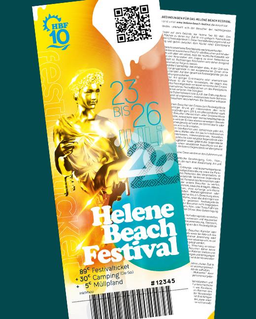 Helene Beach Festival 2020 Kombiticket