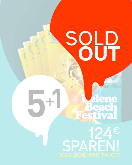 Helene Beach Festival 2020 Kombiticket 5+1
