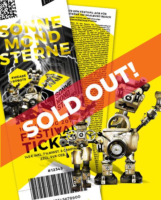 SonneMondSterne Festival-Ticket 2018 zzgl. Gebühr