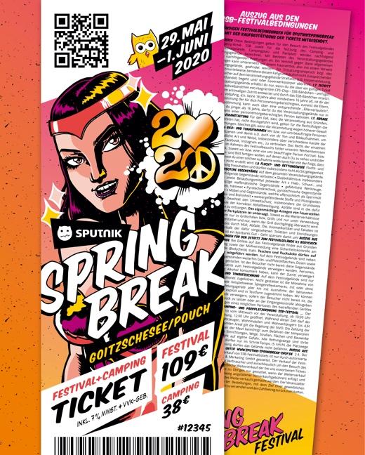 Sputnik Springbreak Festival 2020 Kombiticket